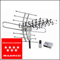 reparacion antenas madrid